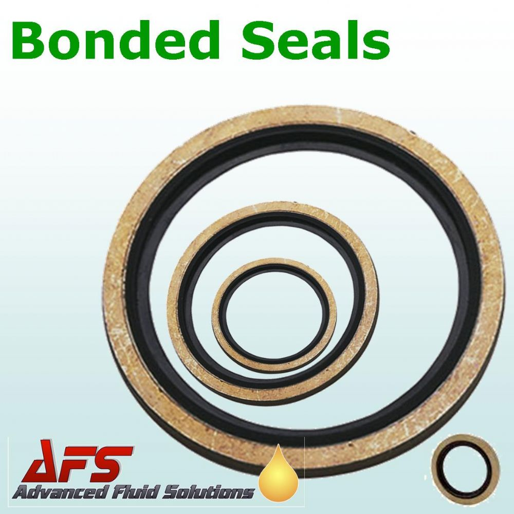 2 BSP Self Centring Bonded Dowty Seal